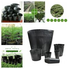Flower Plant Plastic Pots Nursery Vegetable Outdoor Garden Container Supplies