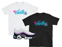 "Nike Air Max Plus 97 Miami Vice Away ""Hustle"" SHIRTS"