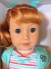 "American Girl Doll BeForever Maryellen 18"" +Book+Stickers+Free Shpg NIB 4-12yrs"