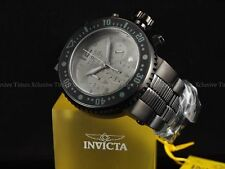 Invicta Men 52mm XL Black OP'S PD Combat Seal Chrono Bracelet SS Watch 500m