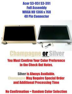 For Acer S3 S3-951 S3-391 S3-2464G Laptop LCD screen B133XTF01 B133XW03
