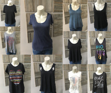 Lot of 11 Assorted Tees and Tanks Size S (Feel the Piece, Zadig, ALC & More)