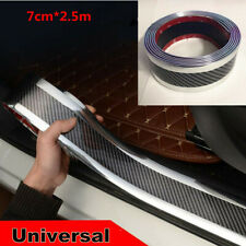 2.5M*7cm Car Door Sill Pedal /Side Skirt/Trunk/Bumper Protect Strip Anti-scratch
