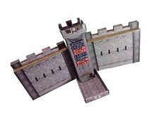 Castle Keep Dice Tower 2 Castle Wall DM Screens with Magnetic Initiative Turn...