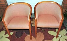 Pair of Retro Mid Century Modern Sebel Furniture Tub Style  Chairs