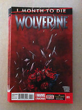 "WOLVERINE (2014) #11 ""1 MONTH TO DIE"" NEAR MINT FIRST PRINTING (DEATH OF...)"