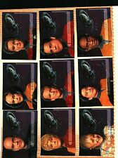 1995 SKYBOX STAR TREK VOYAGER SEASON 1 (9 Card INSERT SET) NM