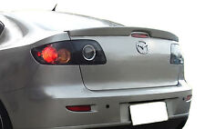 PAINTED MAZDA 3 LIP FACTORY STYLE SPOILER 2003- 2009