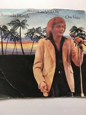 BARRY MANILOW - BERMUDA TRIANGLE / ONE VOICE ( 1980 VINYL SINGLE PICTURE SLEEVE)