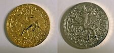 WeLoveFine MY LITTLE PONY Princess Celestia & Luna Collector Coin Akili-Amethyst