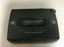 General Electric Personal Cassette Players/recorder, Black