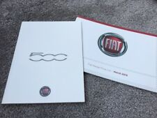 Fiat 500 & 500C Brochure 2013 - 12/2012 Issue + Full Range Price List inc Gucci