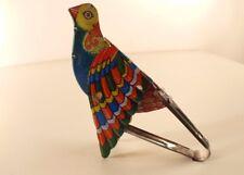 oiseau chanteur Bird Mechanical Flapping Wings B. Shackman & Co. NY tintoy tôle