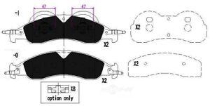 Disc Brake Pad Set-TSS Semi-Metallic Pads Front Dash 4 Brake TD1278MH
