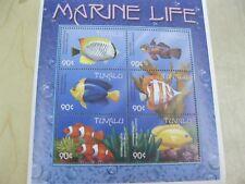 Tuvalu 2010 fish marine life sheet of 6 stamps 5  I201804