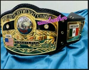 NWA Domed Globe World Heavyweight Wrestling championship belt Replica