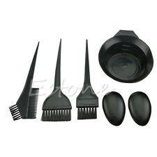 1Set 5Pcs Hairdressing Brushes Bowl Combo Salon Hair Color Dye Tint Tool Kit