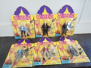 Playmates SNL Set of 6 Coneheads Action Figures- NIB