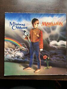 Marillion Misplaced Childhood Vinyl LP
