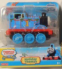 Thomas & Friends Take-N-Play Holiday Thomas Die-Cast Engine New