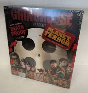 GRINDHOUSE Presents DEATH PROOF + PLANET TERROR DVD 4-DISC Set R4 PAL oz seller