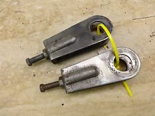 1976 Yamaha XS650 XS 650 Y621' rear wheel adjusters set pair