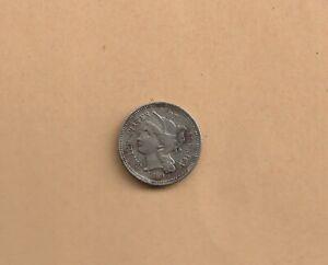 1869 USA NICKEL THREE CENT COIN