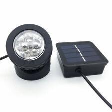 Solar Powered 6 LED Outdoor Garden Landscape Yard Spot Light Lawn Lamp Spotlight