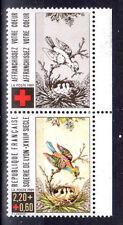 FRANCE TIMBRE CROIX ROUGE AVEC VIGNETTE 2612 ** MNH D SOIERIES DE LYON - 1989