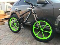 Mountain bike aluminum alloy frame fat snow land coolu Ze beach bb120mm after190
