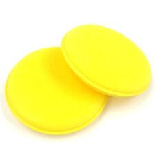 2 x Wax Sponges ~ Application Pad Car Valet Polish Waxing Cleaning Bike Wash