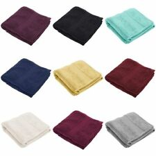 Christy Traditional Solid Pattern Bath Towels