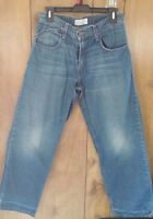 Mens Levi's Silver Tab Baggy Fit Jeans Size 29 x 30 Levis Distressed Denim Pants