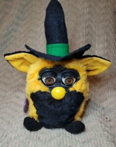 Tested Vintage Oct 1999 Autumn Witch Halloween Special Edition Furby
