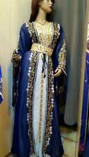 Oferta Dubái Marroquí Caftán Georgette Vestido Jilbāb Árabe Ropa Ms 00578