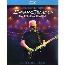 David Gilmour-remember that night/Live at the royal albert hall 2 Blu-ray NEUF