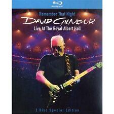 David Gilmour - Remember That Night/Live At The Royal Albert Hall 2 Blu-ray NEU
