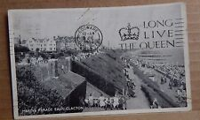 Postcard Marine Parade East Clacton posted 1953