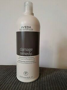 Aveda Damage Remedy Restructuring Shampoo 1L Litre / 1000ml Jumbo Size NEW