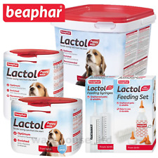 Beaphar Lactol Puppy Milk Vitamin Fortified Milk Powder 250G, 500G 1KG, 2KG