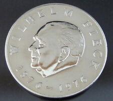 Wilhelm Pieck 1876-1976 Medaille-Neusilber/ca. 25gr. D=40mm