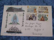 Briefmarken , Ersttagsbrief ,September 1987 ,Großbritannien , Brief nach Krefeld