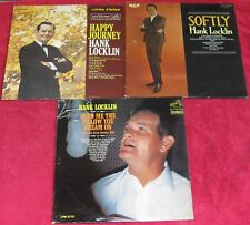 Hank Locklin(Lot of 3 LPs):Happy Journey/Softly/Send Me The Pillow You Dream On