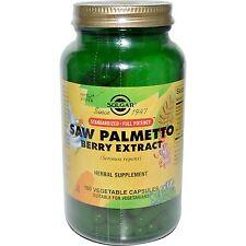 Solgar, Saw Palmetto BACCA estratto, 180 capsule vegetariane