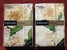 Pair of Sheridan Bramley ProModal Tailored European Pillowcases 65x65cm in Stone