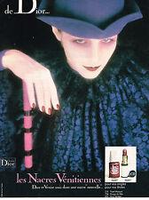 PUBLICITE   1975   DIOR  cosmétiques