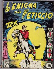 TEX L'ENIGMA DEL FETICCIO N° 24 1966 L.350  L-5
