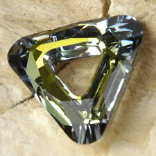 "Authentic SWAROVSKI Crystal (Sahara) Cosmic TRIANGLE Link 20mm (3/4""+)"