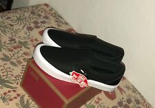 Vans x Rains Slip On Black White Clover Size 10.5 New