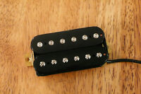 HIGH OUTPUT BRIDGE HUMBUCKER PICKUP BLACK ALNICO 5 MAGNET FOUR CONDUCTOR WIRE